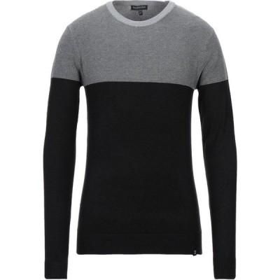 リサイクルアートワールド RECYCLED ART WORLD メンズ ニット・セーター トップス Sweater Black