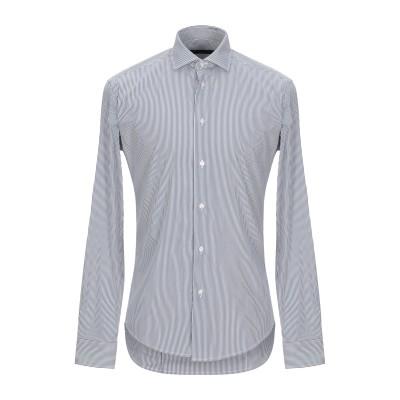 ブライアン デールズ BRIAN DALES シャツ ダークブルー 41 コットン 80% / ナイロン 15% / ポリウレタン 5% シャツ
