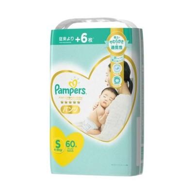P&Gジャパン パンパース パンツ 肌へのいちばん Sサイズ (4-8KG) 60枚 紙おむつ