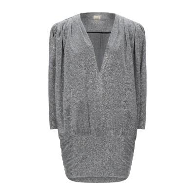 5RUE ミニワンピース&ドレス シルバー XS ポリエステル 100% ミニワンピース&ドレス