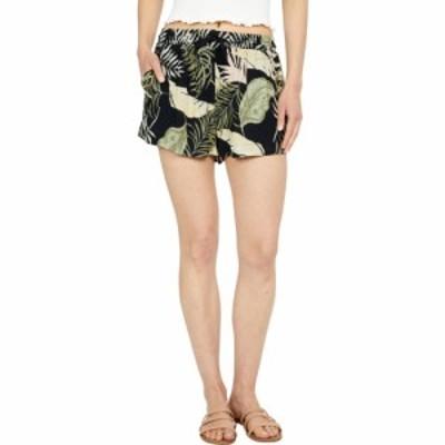 リップカール Rip Curl レディース ショートパンツ ボトムス・パンツ Coastal Palms Shorts Black