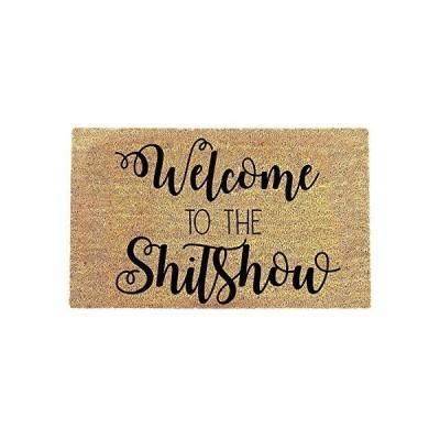 Welcome to the Shitshow Doormat - Funnt Door Mat - Welcome Doormat Housewarming Gift - Personalized Doormat - Welcome Mat - Cute Doormat - D