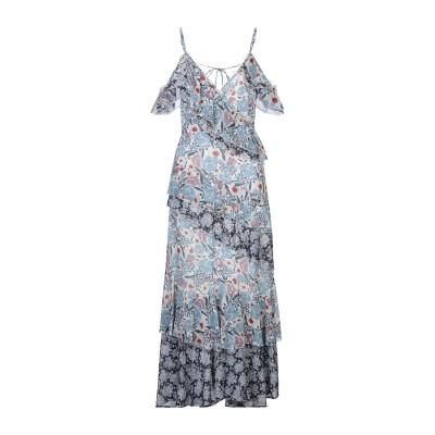 SWEET SECRETS ロングワンピース&ドレス スカイブルー 42 ポリエステル 100% ロングワンピース&ドレス
