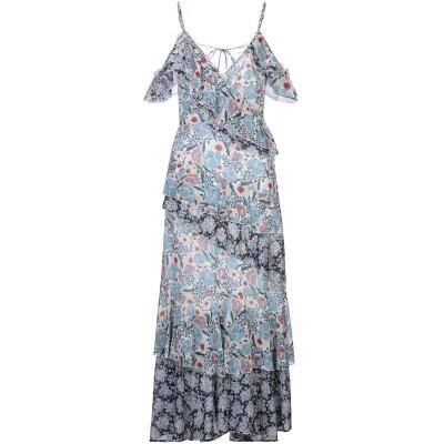 SWEET SECRETS ロングワンピース&ドレス スカイブルー 40 ポリエステル 100% ロングワンピース&ドレス