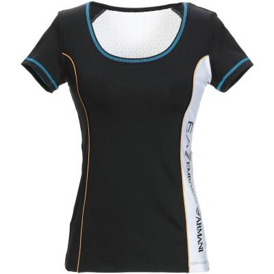 EA7 T シャツ ブラック XS ポリエステル 92% / ポリウレタン 8% T シャツ