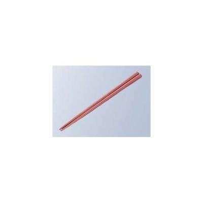 蝶プラ工業 EBM-8215800 【50個セット】金剛箸 22.5cm レッド PPS製 (EBM8215800)