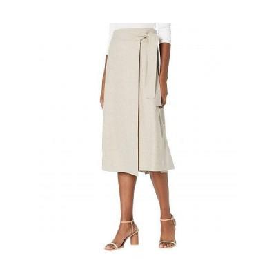 Vince ヴィンス レディース 女性用 ファッション スカート High-Waisted Belt Skirt - Heather Oatmeal