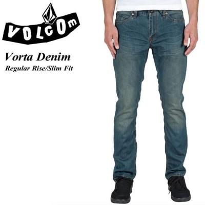 ボルコム VOLCOM A1931501 Vorta Denim FOG Regular Rise Slim Fit