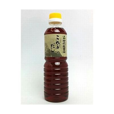 古代柱醤油醸造元 島根県出雲市芦渡町こんぶだし500mlX6本入