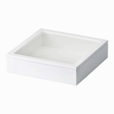 Cazaro MDF BOX 55 AC 250角 ホワイト 36B002B0301  インテリア小物 置物[▲][AB]