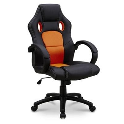 オフィスチェア チェア パソコンチェア 椅子 いす ひじ付き ワークチェア ハイバック(代引不可)【送料無料】