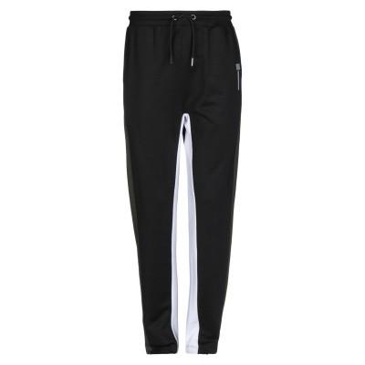 LHU URBAN パンツ ブラック XXL コットン 50% / ポリエステル 50% パンツ