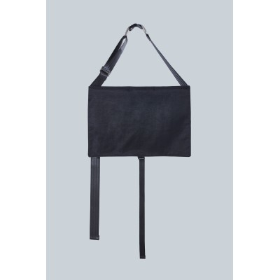 [IUGAMAKARAS] FW 20 Two Buckle Square Bag