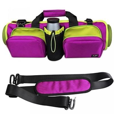 趣味 ヨガ マットバッグ BUBM Elegant Multifunctional Waterproof Yoga Mat Bags /Gym Cross-body Bag/ Travel Bag With Multiple Pockets  Adjustable