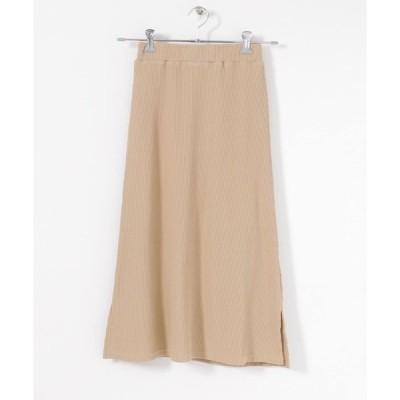 スカート リブスカート∴