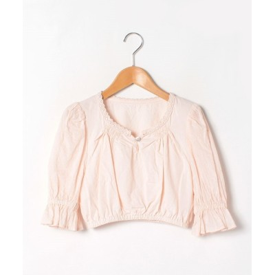 (BAYCREW'S GROUP LADIES OUTLET/ベイクルーズグループアウトレットレディース)chibi puff blouse/レディース ピンク