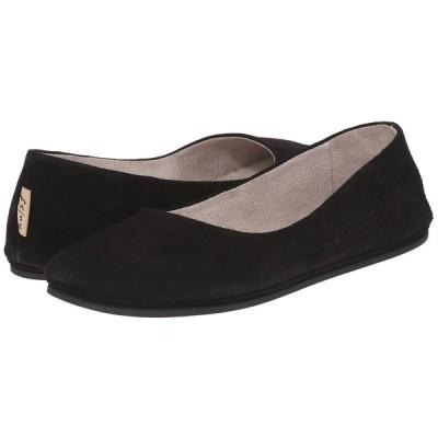 フレンチソール French Sole レディース スリッポン・フラット シューズ・靴 Sloop Flat Black Suede