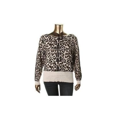 セーター アウター 防寒 インク INC 8655 レディース アニマル プリント Raglan スリーブs プルオーバーTop Shirt Plus