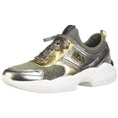 レディース 靴 スニーカー G by Guess Womens Jimmi 2 Metallic Fashion Dad Sneakers