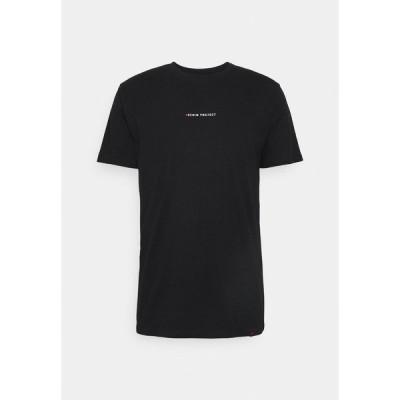 デニム プロジェクト Tシャツ メンズ トップス MOJO TEE - Print T-shirt - black