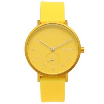 スカーゲン 腕時計 レディース メンズ SKAGEN SKW2820 イエロー