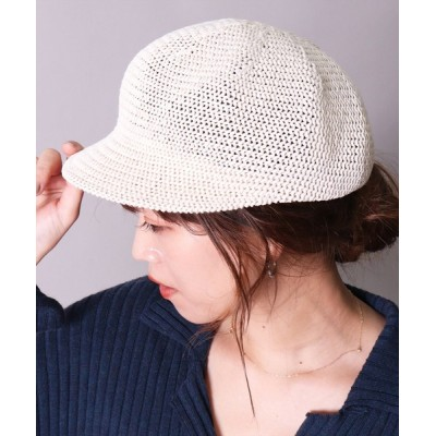 BAYBLO / 【ワイヤー入り】サマー キャスケット(CR) WOMEN 帽子 > キャスケット
