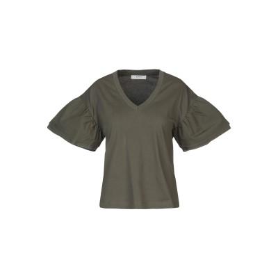 アルファスタジオ ALPHA STUDIO T シャツ ミリタリーグリーン 42 コットン 100% T シャツ