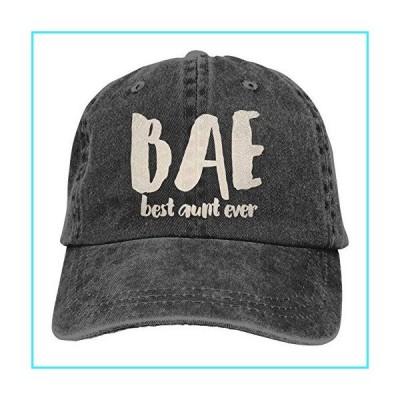 BAE デニムキャップ Best Aunt Ever 野球 ダッドキャップ クラシック 調節可能 カジュアル スポーツ ノベルテ