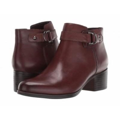 Naturalizer ナチュラライザー レディース 女性用 シューズ 靴 ブーツ アンクル ショートブーツ Drewe Chocolate Leather【送料無料】