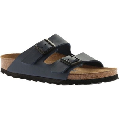 ビルケンシュトック Birkenstock レディース サンダル・ミュール シューズ・靴 Arizona Soft Footbed Birko-Flor Sandal Navy Birko/Flor