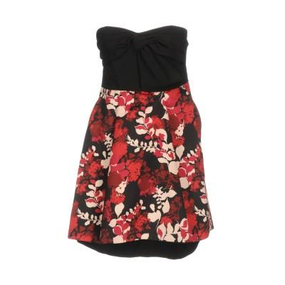 リュー ジョー LIU •JO ミニワンピース&ドレス ブラック 40 88% ポリエステル 12% ポリウレタン ミニワンピース&ドレス