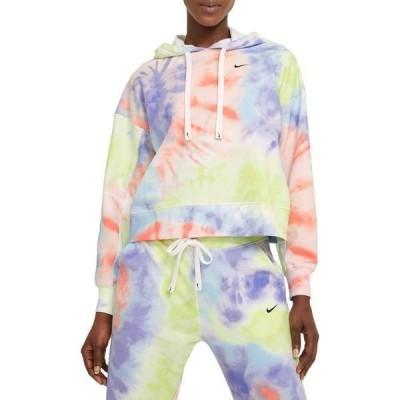 ナイキ レディース パーカー・スウェット アウター Nike Women's Get Fit Tie-dye Hoodie