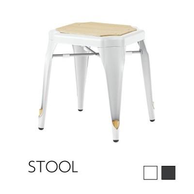 スツール チェア 椅子 おしゃれ スチール イス 背もたれなし 四角 カフェ 安い