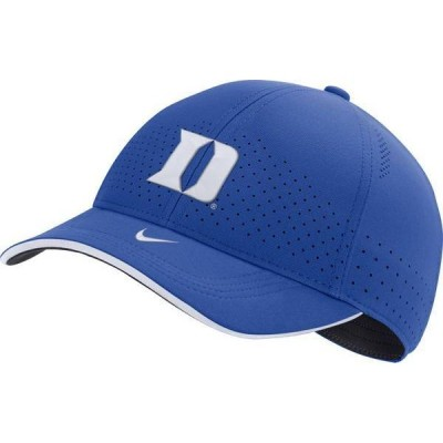 ナイキ メンズ 帽子 アクセサリー Nike Men's Duke Blue Devils Duke Blue AeroBill Classic99 Football Sideline Hat
