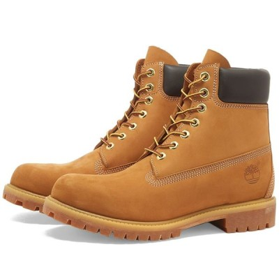 """ティンバーランド Timberland メンズ ブーツ シューズ・靴 6"""" Premium Boot Wheat Nubuck"""