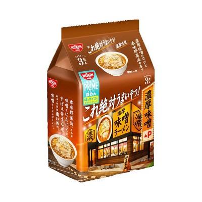 日清これ絶対うまいやつ! 濃厚味噌 3食パック (袋)291g ×9個 /にんにく /香味野菜油の香り /太ちぢれ麺