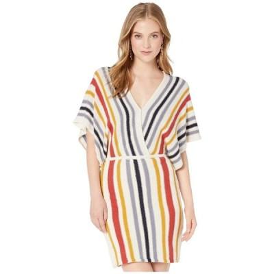カップケーキアンドカシミア レディース ワンピース トップス Frances Striped Sweater Knit Dolman Dress