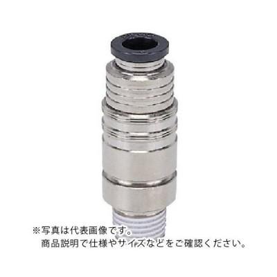 ピスコ 金型温調継手ストレート08型チューブ6MMネジR1/8 (AKC08601) (株)日本ピスコ (メーカー取寄)