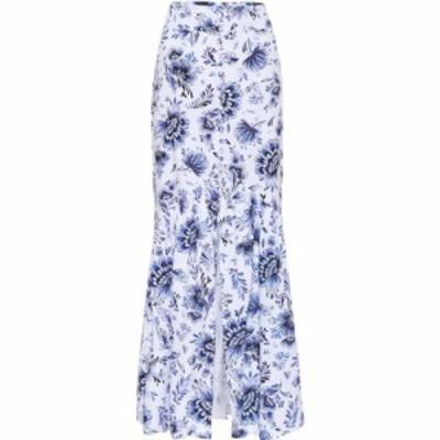 アレクサンドラ ミロ Alexandra Miro レディース ロング・マキシ丈スカート スカート Delliah printed cotton skirt China Blue Print