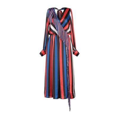 エムエスジーエム MSGM 7分丈ワンピース・ドレス レッド 44 ポリエステル 100% 7分丈ワンピース・ドレス