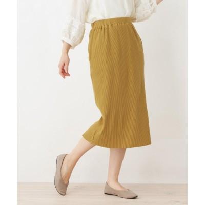 SHOO・LA・RUE/DRESKIP(シューラルー/ドレスキップ) 2WAYリブスリットスカート