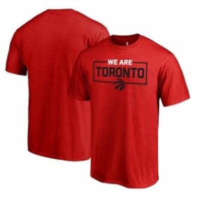 Fanatics Branded ファナティクス ブランド スポーツ用品  Fanatics Branded Toronto Raptors Red We Are Iconic Collection T-Shirt