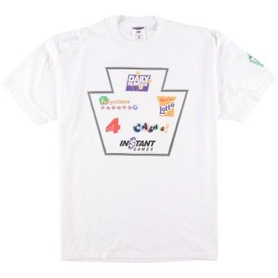 90年代 ジャージーズ Jerzees グラフィックTシャツ USA製 メンズXL ヴィンテージ 【中古】 【200619】 /eaa049196