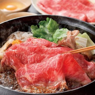 松阪牛もも・肩ロースすき焼き用 ツウこそ夏のすき焼き