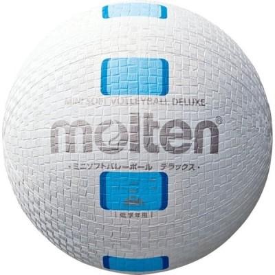 モルテン(Molten) ミニソフトバレーボールデラックス 白シアン S2Y1500WC