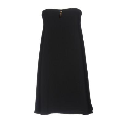 ELISABETTA FRANCHI MUMMY ミニワンピース&ドレス ブラック 44 ポリエステル 100% ミニワンピース&ドレス