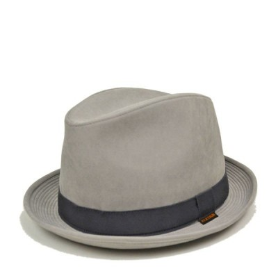 ステットソン・中折れハットSE489/STETSON 秋冬 おしゃれ メンズ 紳士 大きいサイズ 小さいサイズ 57cm 59cm 61cm グレー 日本製 送料無料 帽子