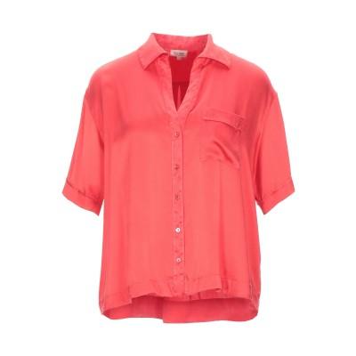 HER SHIRT シャツ レッド XS シルク 94% / ポリウレタン® 6% シャツ