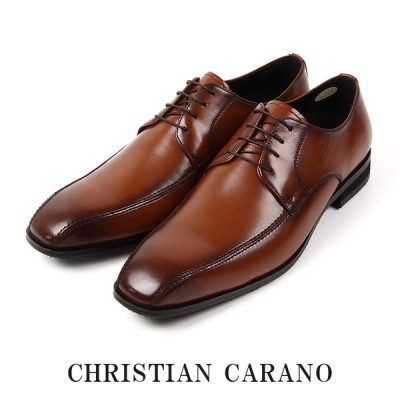 CHRISTIAN CARANO クリスチャンカラノ TK-854 ビジネスシューズ - 本革 スワールトゥ 外羽根 5E 撥水 大きいサイズ キングサイズ