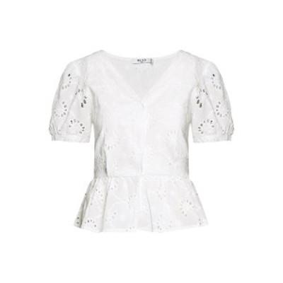 エヌ エー ケイ ディ レディース シャツ トップス FLOWER ANGLAISE BLOUSE - Blouse - white white